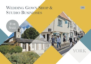 Wedding Gown Shop & Studio Businesses, York