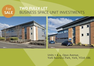 Units 1 and 4, Opus Avenue, York Business Park, York, YO26 6BL