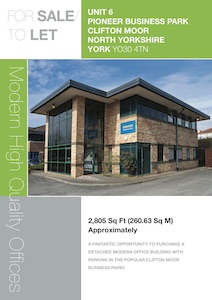 Unit 6, Pioneer Business Park, Clifton Moor, York, YO30 4TN