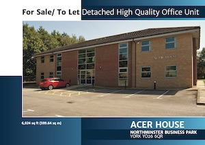 Acer House, Northminster Business Park, York, YO26 6QR
